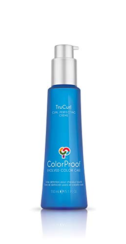 ColorProof TruCurl Curl Perfecting Crème, 5.1 Oz - Color-Safe, Curl Define, Vegan, Sulfate-Free, Salt Free, Unisex - Professional Curly Hair Product
