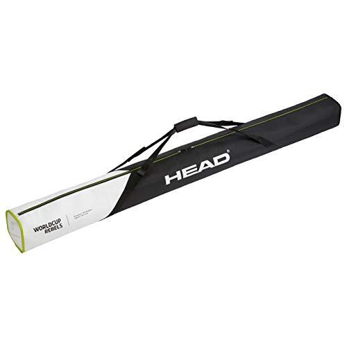 HEAD Unisex– Erwachsene Rebels Single Skibag Skitasche, schwarz/Weiss, Einheitsgröße