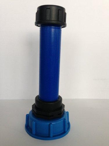 CMS60290R83 uitloopstukken met kunststof buis DN32, 100 mm AG 1
