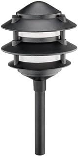 Intermatic CL191 Malibu Low Voltage Premium Cast Metal 3 Tier 11-Watt Landscape Light, Black