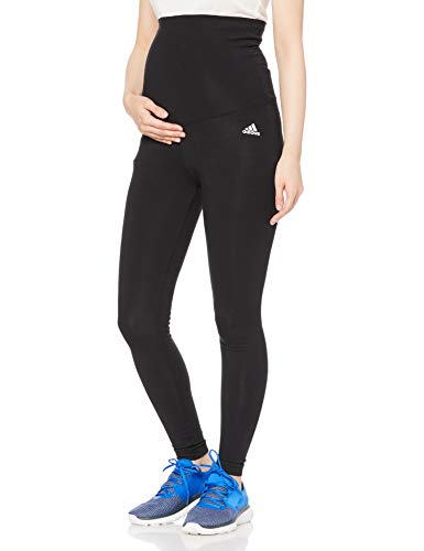adidas Performance Damen Fitness-Leggings Essentials Cotton Leggings schwarz, Größe:S