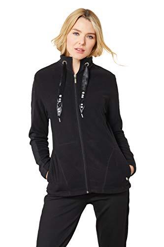 hajo Polo & Sportswear Damen Micro-Fleecejacke mit Stehkragen