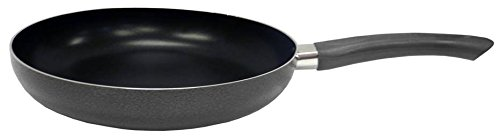 IMUSA USA Nonstick Soft Touch Handle 10' Charcoal Saute Pan w/Black