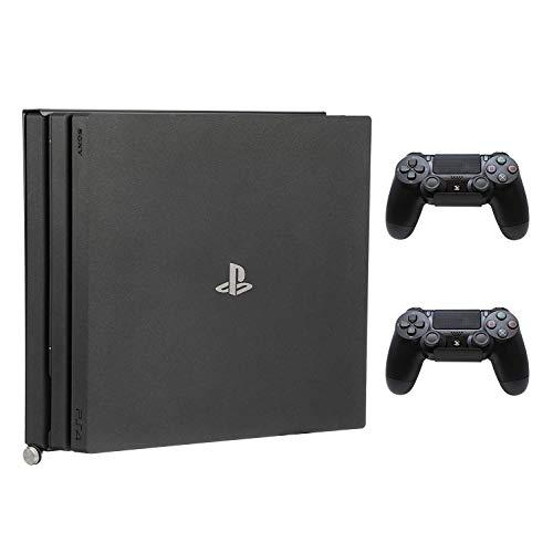 HumanCentric PS4 Halterung für PS4 Pro + 2 Controller-Halterungen Bundle | Montage an der Wand oder an der Rückseite des Fernsehers | zum Patent angemeldet