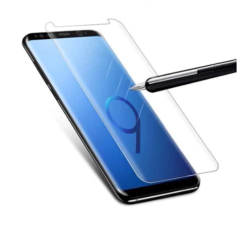 Vidrio de Cubierta Curva Completa Cobertura de Pantalla de Cristal Templado Borde Protector para Samsung Galaxy S7 Edge Protectora película