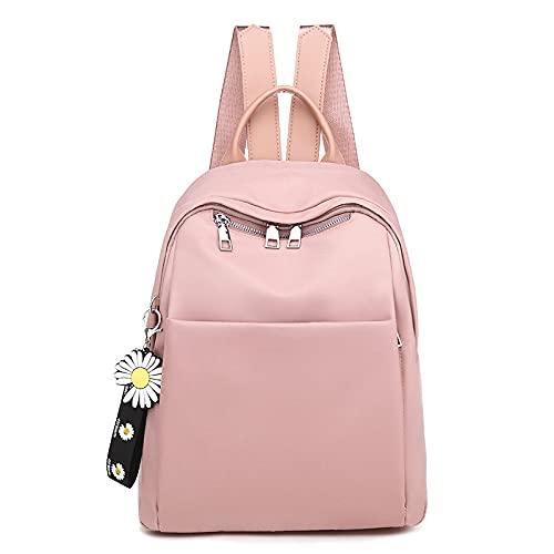 MIMITU Mochila de mujer 2021 Mochilas escolares de moda para mujer coreana verde rojo negro rosa bolso, rosa