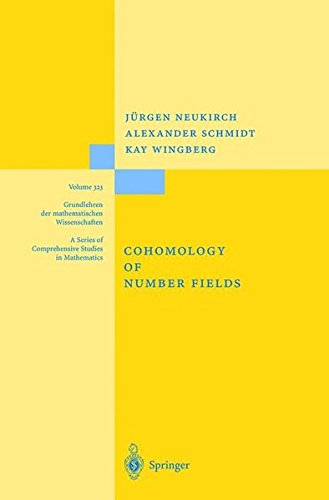 cohomology of number fields - 2
