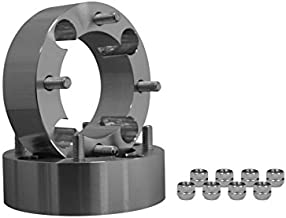 SuperATV Heavy Duty 2'' Aluminum Wheel Spacers for Polaris Ranger XP 1000 / Crew/Diesel (See Fitment) - 4/156 mm bolt pattern (1 Pair)