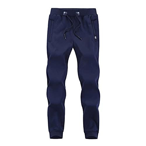 LBBL Leggings y medias deportivas Pantalones Jogging Cálidos Invierno, Pantalones Gran Tamaño Hombres, Pantalones Chándal Gruesos Informales Moda Pantalones Jogging Cálidos Invierno Pantalones de yoga