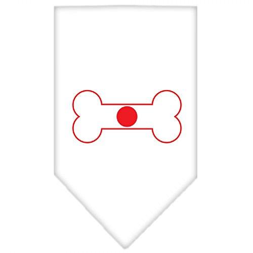 Mirage Bone Vlag Japan Scherm Print Hond Bandana