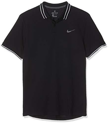 NIKE M Nkct ADV Camiseta Polo, Hombre, Black/(Black)