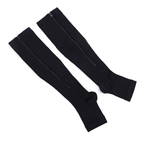 SLXFAD Medias Calcetines de compresión Zipper Women