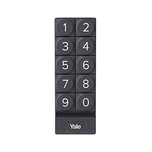 Yale 05/301000/BL - Smart Keypad - Negro - Teclado numérico digital para Yale Smart Locks