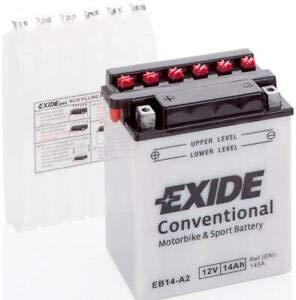 Batteria moto EXIDE 14AH 12V 145EN DI SPUNTO OEM EB14-A2