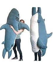ポップ巨大なサメぬいぐるみ寝袋私をかむサメ畳ソファベッド サメ寝袋 大人 ぬいぐるみ メガロドン枕 2m