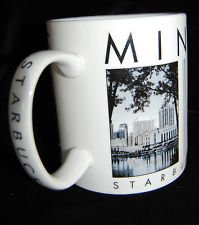 Starbucks Coffee Scenes The City of The Lakes Series Minneapolis MN Mug Cup Excellent Vintage 2002 Coffee Cup Mug City Series Mugs