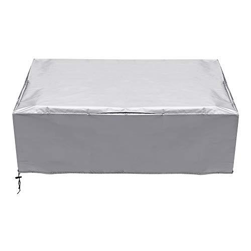 EsportsMJJ 180x150x80cm 210D Polyester Anti-Dust Sofa Piano Barbecue Fornuis Meubilair Waterdichte Cover ZILVER