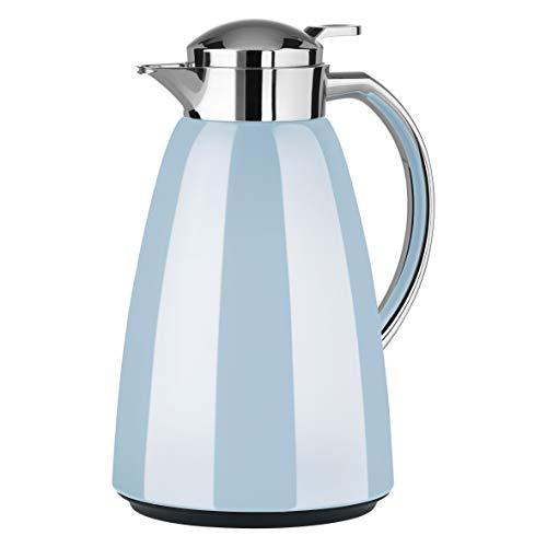Emsa F4130400 Campo Isolierkanne, 1 Liter, Pastel-blau