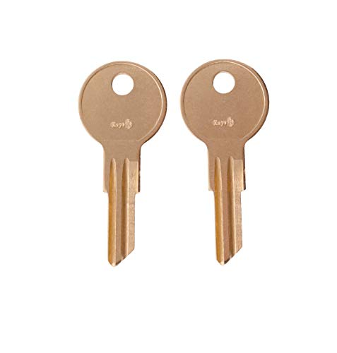 Pair of 2 -Replacement Keys for Code 001 002 003 004 005 Husky Tool Box (Husky only) Home Depot. Keys pre Cut to Code by keys22 (001 Husky)
