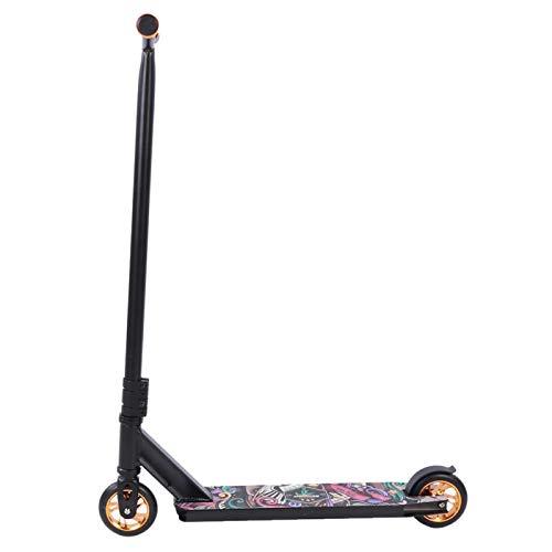 KUIDAMOS Elegante Scooter de Acrobacias de aleación de Aluminio Plegable, para Viajes Diarios a la Ciudad