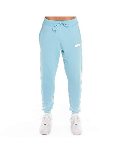 GRIMEY PANTALÓN ASHE SWATPANTS SS18 Light Blue-L