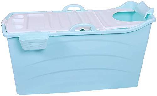 yunyu Bañera Grande para Adultos Bañera Grande Plegable para bebés Bañera para bebés Bañera Caliente Plegable para bebés 123 * 52 * 68Cm, A, 123 * 52 * 68cm