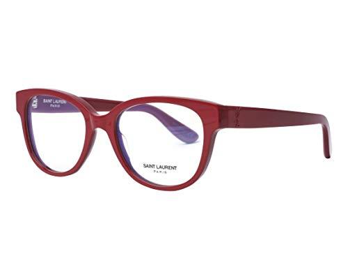 Yves Saint Laurent Brille (SL-M27 004) Acetate Kunststoff dunkel rot