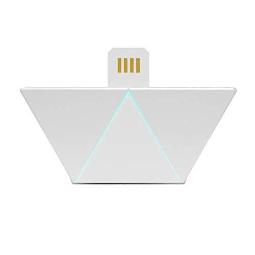 nanoleaf Aurora & Rhythm Starter Kit LED RGBW Farbwechsel-LED & Sound-Modul Starter Set inkl. 9 Panel   App-Steuerung   16 Millionen Farben   Kompatibel mit Apple HomeKit & Android, google assistant - 8