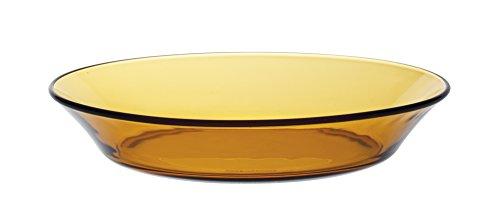 Duralex - Plato Hondo Lys Ambar, 19,5 cm, 6 unidades