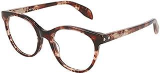 Alexander McQueen AM0131O BEIGE HAVANA 49/20/145 women eyewear frame