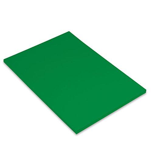 Paquete A4, (50 Hojas) Guarro Cartulina IRIS 185g Verde Abeto