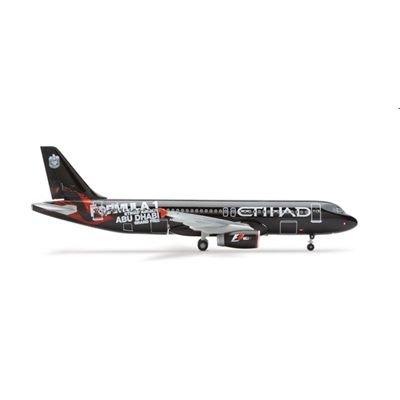 562065 - Herpa Wings - Etihad Airways Airbus A320 Formula 1