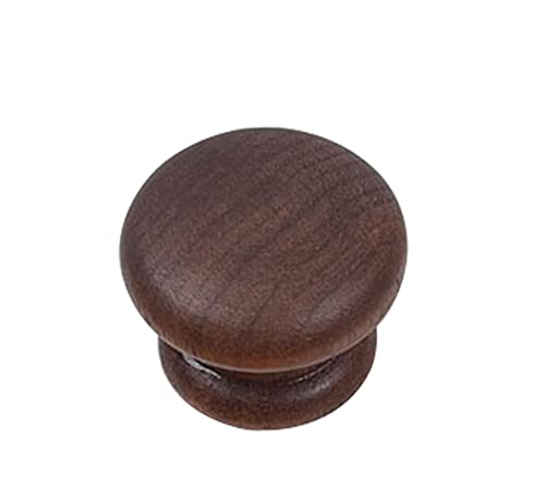 Tiradores de puerta de madera, tiradores de barra de madera maciza para cajones y armarios de cocina, con tirador de tornillo fijo para muebles, tiradores de madera para cajones de armario de