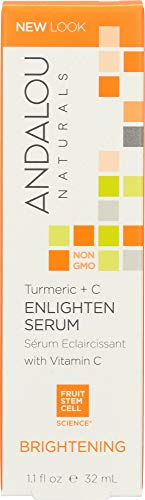 Andalou Naturals Enlighten Serum Turmeric + C Brightening