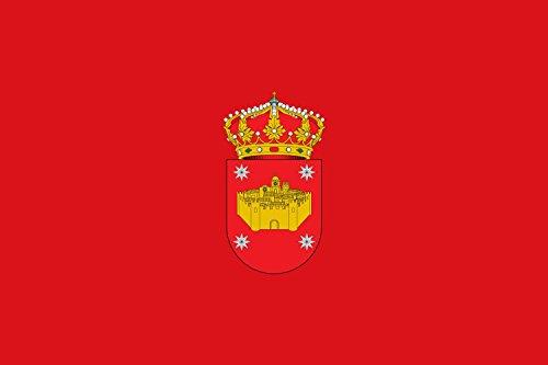 magFlags Drapeau Large Villanueva de la Vera   Town of Villanueva de la Vera; in Cáceres, Spain   Municipio de Villanueva de la Vera; en Cáceres   Drapeau Paysage   1.35m²   90x15
