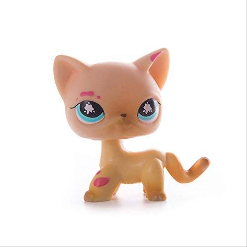 LPS Pet Shop Presents Toys Muñecas de pelo corto gato colección figuras de acción modelo juguetes regalos juguetes Cosplay Juguetes Niña Juguetes A 30
