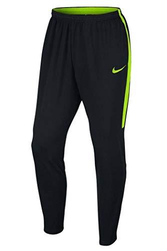 Nike M Nk Dry Acdmy Kpz, Pantalone Uomo, Nero/Nero/Electric Green, L