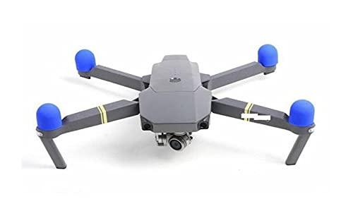 Parti del drone, 4 pezzi/set Protezione motore in silicone per protezione motore per Dji per Mavic Pro/per Mavic 2 Pro/Zoom (Color : Blue)
