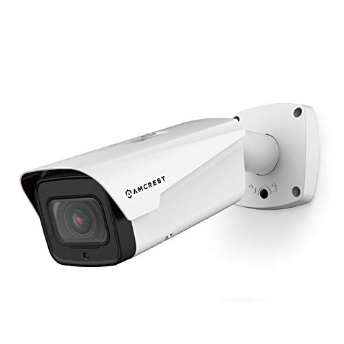 Amcrest Cámara IP con Zoom óptico 4K, Lente motorizada, cámara PoE de 8 MP para Exteriores