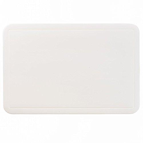 kela Tisch-Set Uni 43,5x28,5cm aus PVC in weiß, Polyester, 43.5 x 28.5 x 1 cm