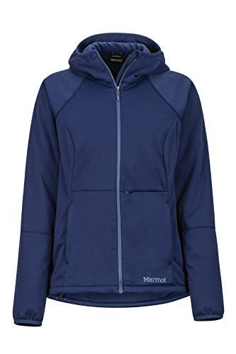 Marmot Wm's Zenyatta Jacket Veste Softshell, Veste d'extérieur, Anorak, Déperlante, Respirante Femme Arctic Navy FR: S (Taille Fabricant: S)