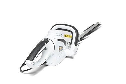 Alpina 256050000/12 Taille-haie Électrique H 500 E, 500 W, Blanc, Longueur lame 50 cm, Écartement des dents 15 mm