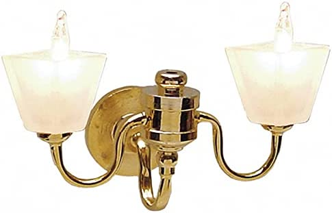 factorydirectcraft Max 86% OFF 12v Max 58% OFF Double Frosted Wall House Sconce M - Doll