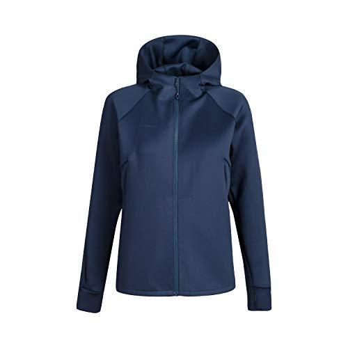 Mammut Damen Midlayer-jacke Mit Kapuze Avers Hooded, blau, L