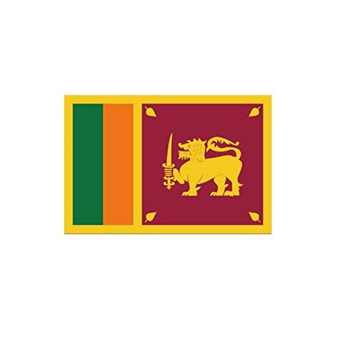 stormflag Sri Lanka Flagge (90cmx150cm) Polyester Pongee 90g mit Ösen mit Doppelnadel genäht.