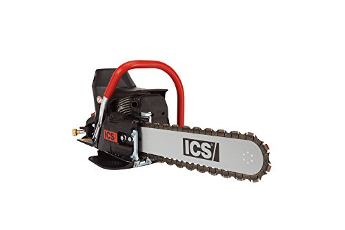 ICS 576153 680ES-14 Gas Powered Concrete Cutting Chainsaw Package with 14' Guidebar and TwinMAX Chain