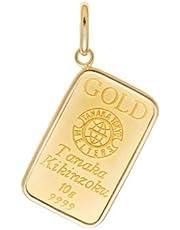 ギンザ タナカ GINZA TANAKA ゴールドコインバー ペンダントトップ 簡易梱包(商品の説明参照)
