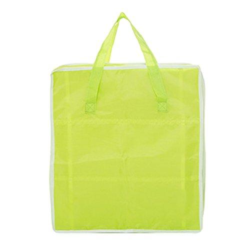 Dexinx Schuhbeutel-Set Leichtgewicht Wasserdicht Kleidertaschen Verpackungswürfel Organizer Grün 33 * 15 * 37CM