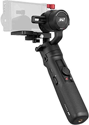 Zhiyun Crane M2 - Stabilizzatore Gimbal 4 in 1 Compatibile con Actioncam, Smartphone, Mirrorless e Fotocamere Compatte. Carico Max 720G