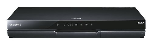 Samsung BD-D8200S/ZG Blu-ray-Player (3D, Twin Tuner, DVB-S2, 250GB HDD, PVR, USB 2.0, WLAN)